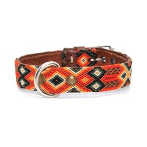 KINAKU Collars and dogs accesories handmade from Mexico Collar Bacalar S M