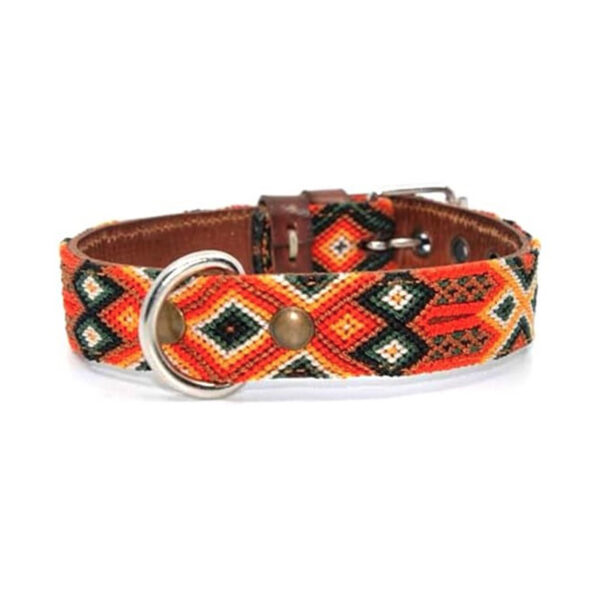 KINAKU Collars and dogs accesories handmade from Mexico Collar Bacalar S M