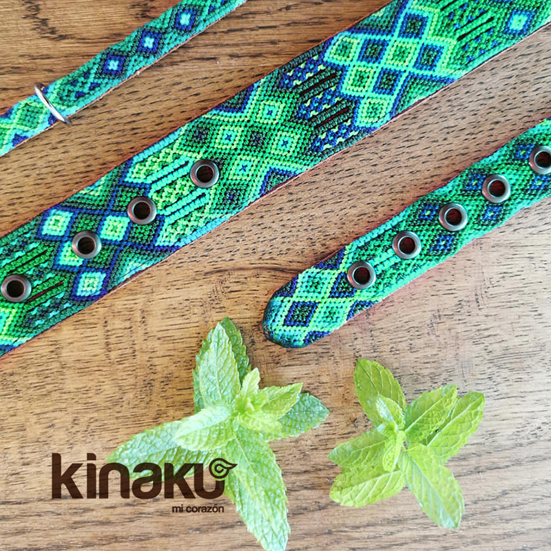 KINAKU Collars and dogs accesories handmade from Mexico Collar Becan Gallery 3