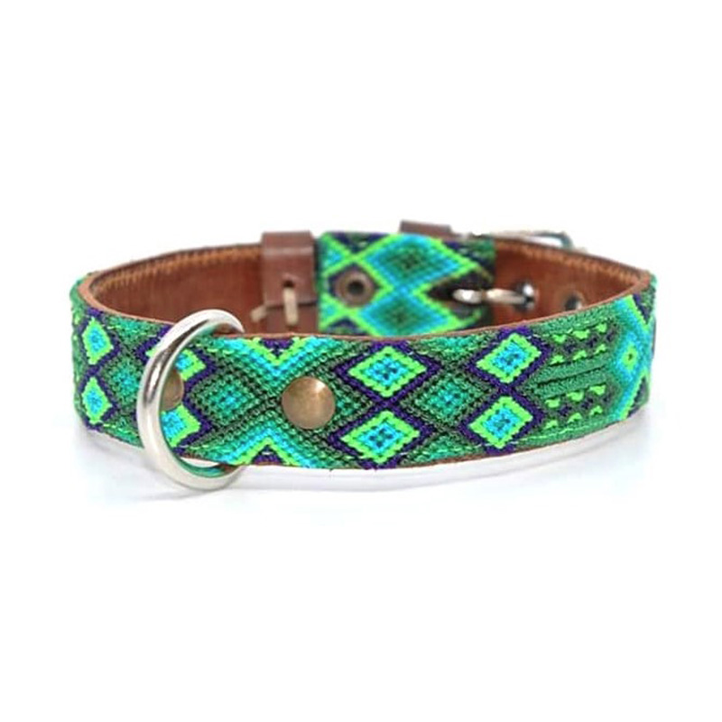KINAKU Collars and dogs accesories handmade from Mexico Collar Becan S M 1