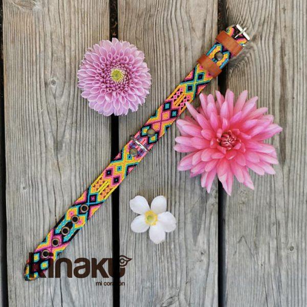 KINAKU Collars and dogs accesories handmade from Mexico Collar Merida 4