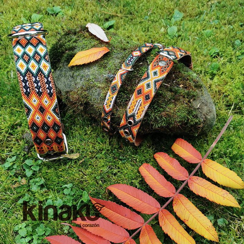 KINAKU Collars and dogs accesories handmade from Mexico Collar Merida Gallery 2