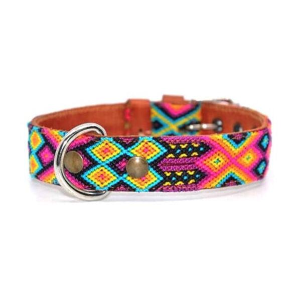 KINAKU Collars and dogs accesories handmade from Mexico Collar Merida S M