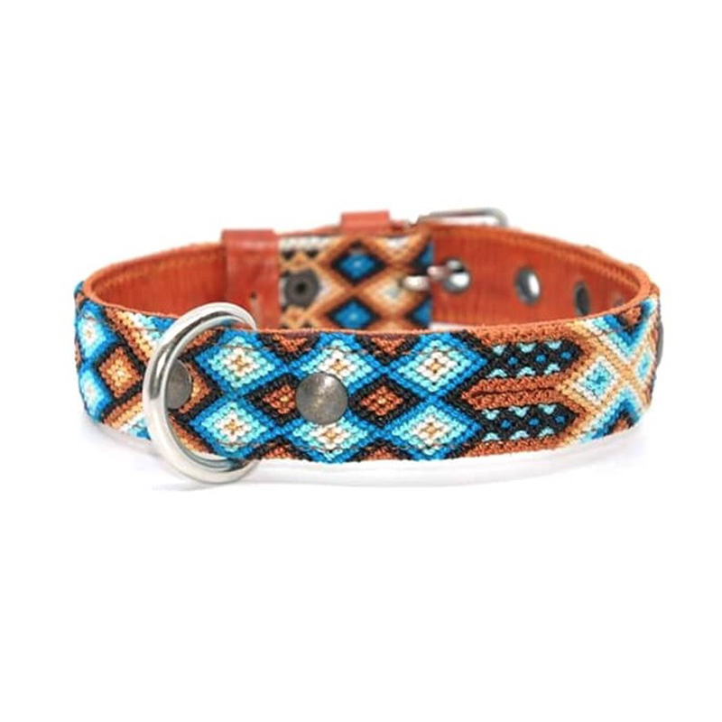 KINAKU Collars and dogs accesories handmade from Mexico Collar Nayarit S M