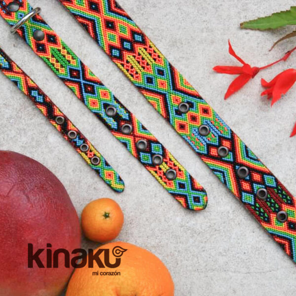 KINAKU Collars and dogs accesories handmade from Mexico Collar Suytun Gallery 3 1