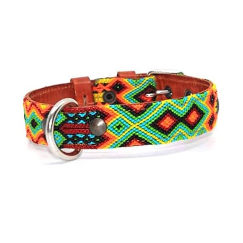 KINAKU Collars and dogs accesories handmade from Mexico Collar Suytun S M