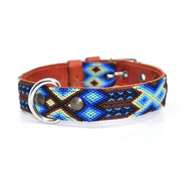 KINAKU Collars and dogs accesories handmade from Mexico Collar Tulum S M
