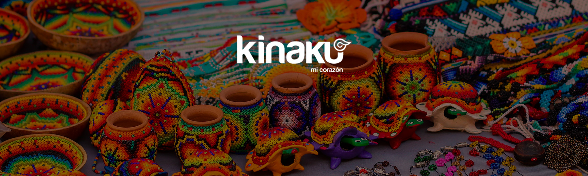 KINAKU Collars and dogs accesories handmade from Mexico Collar mexican textilex2
