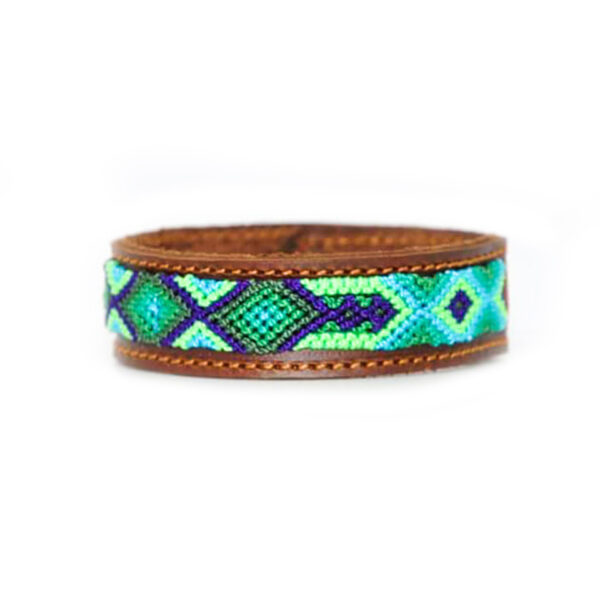 KINAKU Collars and dogs accesories handmade from Mexico Bracelet Becan 1
