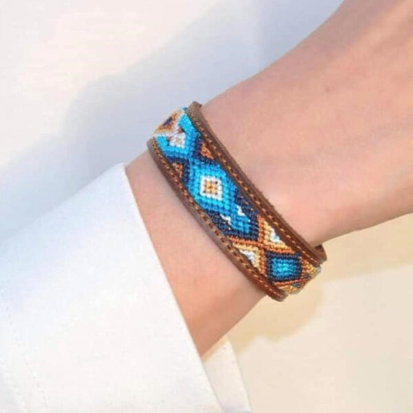 KINAKU Collars and dogs accesories handmade from Mexico Bracelet Nayarit1