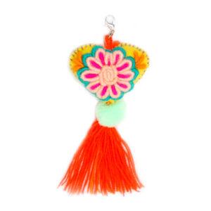 KINAKU Collars and dogs accesories handmade from Mexico Heart Charm Amor 1