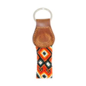 KINAKU Collars and dogs accesories handmade from Mexico KeyRing Bacalar 1