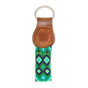 KINAKU Collars and dogs accesories handmade from Mexico KeyRing Becan 1