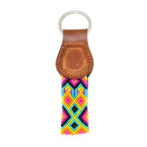 KINAKU Collars and dogs accesories handmade from Mexico KeyRing Merida 1