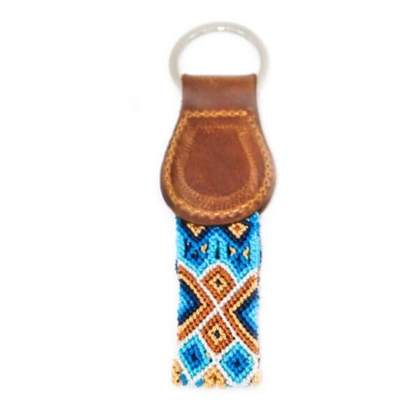 KINAKU Collars and dogs accesories handmade from Mexico KeyRing Nayarit 1