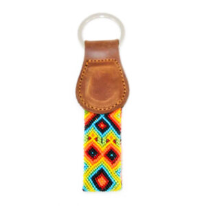 KINAKU Collars and dogs accesories handmade from Mexico KeyRing Suytun 1
