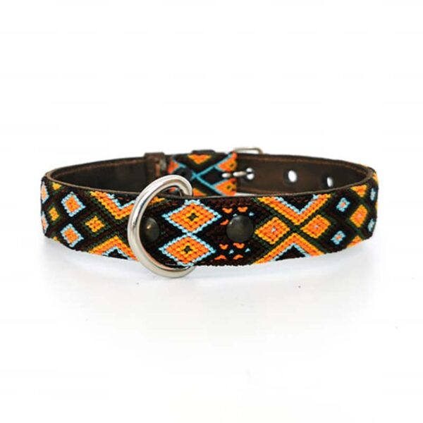 KINAKU Collars and dogs accesories handmade from Mexico Collar Cozumel S M