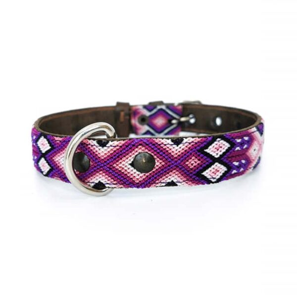 KINAKU Collars and dogs accesories handmade from Mexico Collar Tonina S M
