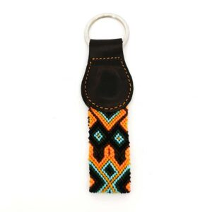 KINAKU Collars and dogs accesories handmade from Mexico KeyRing Cozumel