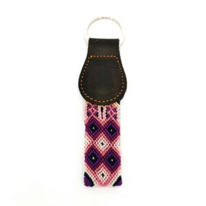 KINAKU Collars and dogs accesories handmade from Mexico KeyRing Tonina
