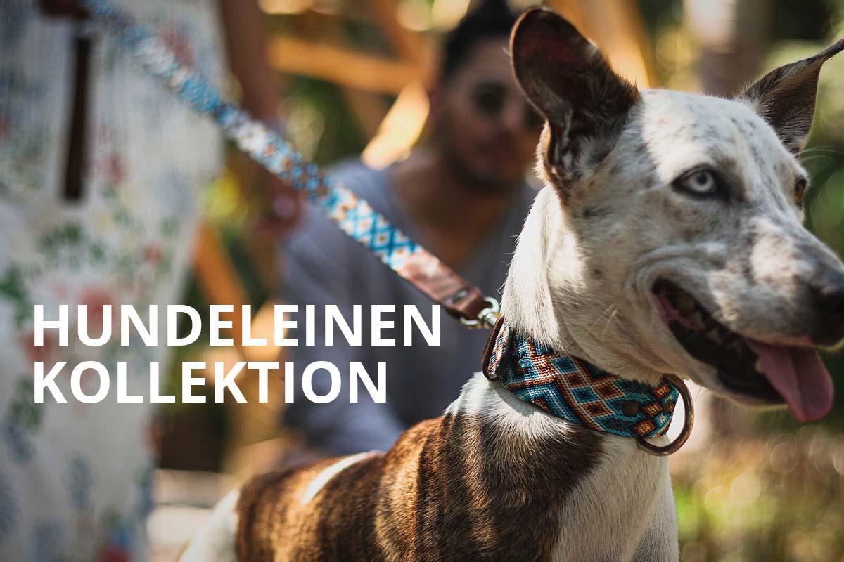 KINAKU Collars and dogs accesories handmade from Mexico HUNDELEINEN KOLLEKTION